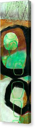 Tidal Current 1 Canvas Print by Jane Davies