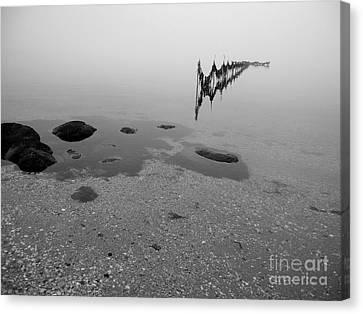 Tidal Trap Canvas Print by Robert Riordan