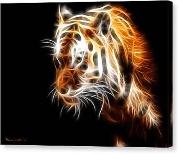 Caricature Canvas Print - Tiger  by Mark Ashkenazi
