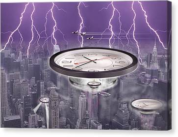 Time Travelers Canvas Print by Mike McGlothlen