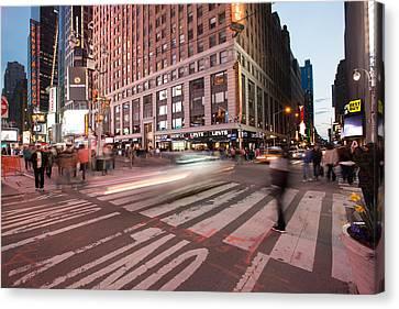 Times Square Series Canvas Print