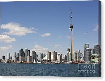 Toronto City Skyline Canvas Print