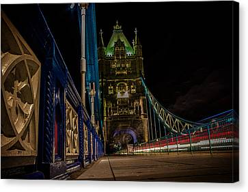 Urban Exploration Canvas Print - Tower Bridge by Martin Newman