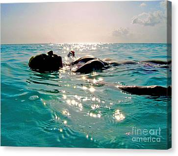 Miami Canvas Print - Tranquility by Carey Chen