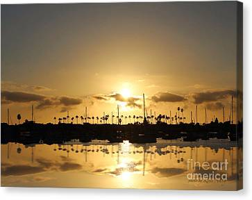 Tranquility Canvas Print by Kevin Ashley