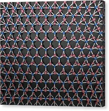 Transition Metal Dichalcogenide Monolayer Canvas Print by Robert Brook