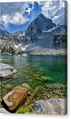 Treasure Lakes Canvas Print by Cat Connor