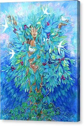 Tree Of Life  Canvas Print by Trudi Doyle