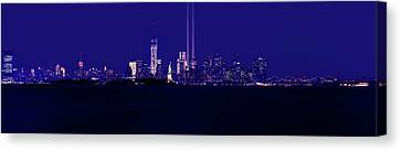 Tribute In Light, World Trade Center Canvas Print