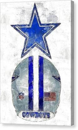 True Blue Canvas Print by Carrie OBrien Sibley