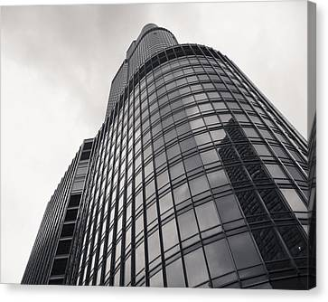 Trump Tower Chicago Canvas Print by Adam Romanowicz