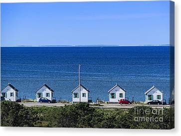 Truro Cottages Canvas Print by John Greim