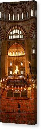 Turkey, Edirne, Selimiye Mosque Canvas Print by Panoramic Images