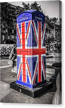 Union Jack Phone Canvas Print