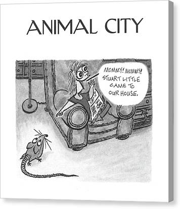 New Yorker June 5th, 2000 Canvas Print by Arnold Roth