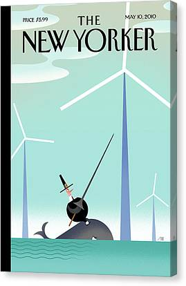 New Yorker May 10th, 2010 Canvas Print