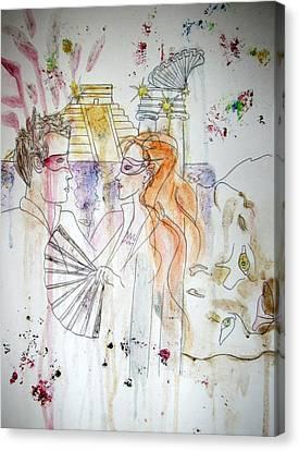 Untitled Canvas Print by Cynthia Hilliard
