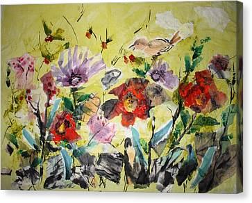 Untitled Canvas Print by Mary Spyridon Thompson