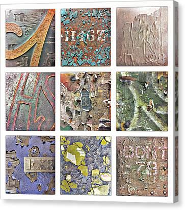 Ruin Canvas Print - Urban Typography by Conor O'Brien