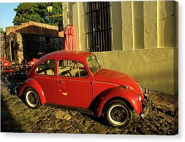 Uruguay Colonia Del Sacramento Barrio Canvas Print