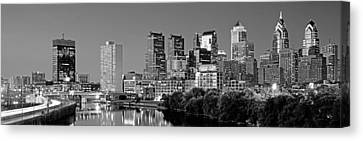 Us, Pennsylvania, Philadelphia Skyline Canvas Print