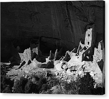 Usa, Colorado, Mesa Verde National Park Canvas Print by Jaynes Gallery