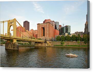Usa, Pennsylvania, Pittsburgh Canvas Print by Kevin Oke