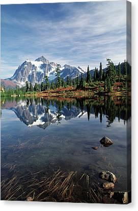 Usa, Washington State, North Cascades Canvas Print by Stuart Westmorland