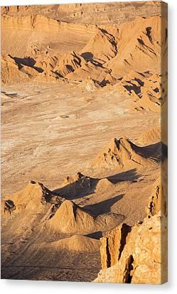 Valley Of The Moon Canvas Print - Valle De La Luna by Peter J. Raymond