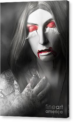 Vampire Canvas Print by Jorgo Photography - Wall Art Gallery