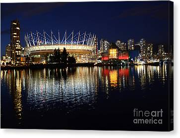 Vancouver British Columbia 3 Canvas Print by Bob Christopher