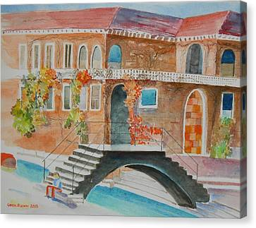 Venice Canvas Print by Geeta Biswas