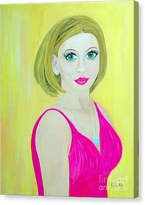 Victoria. Inspirations Collection. Canvas Print by Oksana Semenchenko