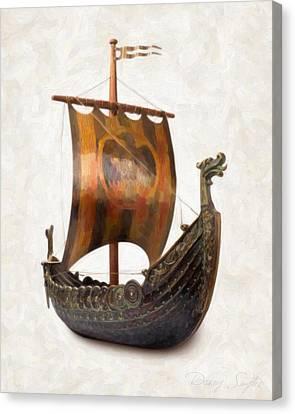 Viking Ship  Canvas Print