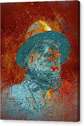 Vince Lombardi Canvas Print by Jack Zulli