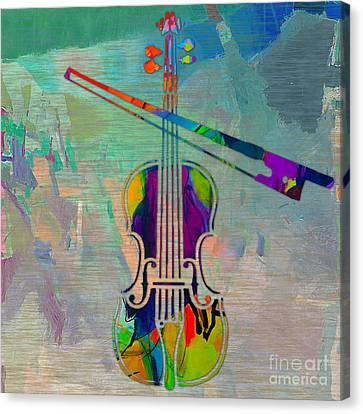 Violin Canvas Print - Violin  by Marvin Blaine