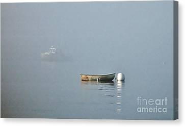 Canvas Print featuring the photograph Waiting Dory by Christopher Mace