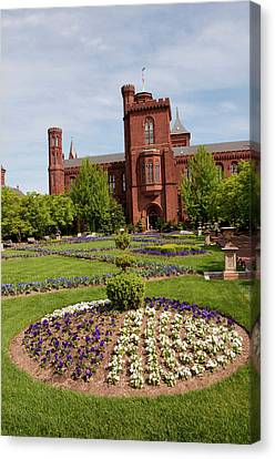 Washington Dc, Smithsonian Headquarters Canvas Print