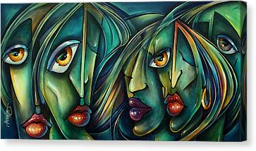 Watch Canvas Print by Michael Lang