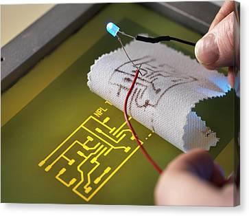 Wearable Electronics Canvas Print