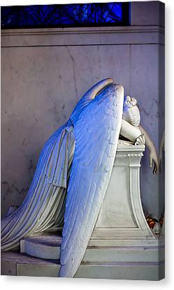 Weeping Angel I Canvas Print by Chris Moore