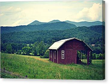 Western North Carolina Farm Canvas Print