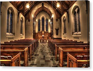 Westminster Presbyterian Church Canvas Print by Amanda Stadther