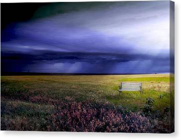 Canvas Print featuring the photograph What If... by Yvonne Emerson AKA RavenSoul