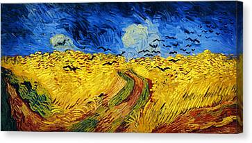 Newy Ork Canvas Print - Wheatfield With Crows by Vincent van Gogh