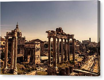 History Canvas Print - Whispers From The Past - Italian Landscape - Rome by Andrea Mazzocchetti