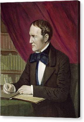 William Hickling Prescott (1796-1859) Canvas Print
