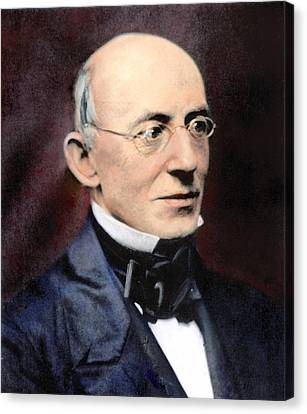 William Lloyd Garrison Canvas Print by Granger