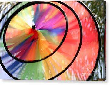 Canvas Print featuring the photograph Wind Wheel by Henrik Lehnerer