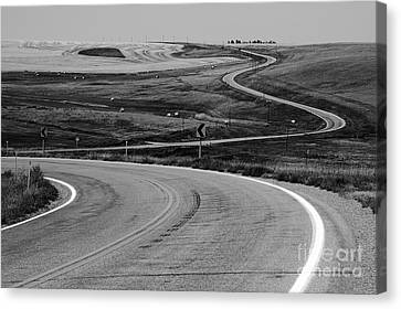 Winding Road Canvas Print by Sue Smith